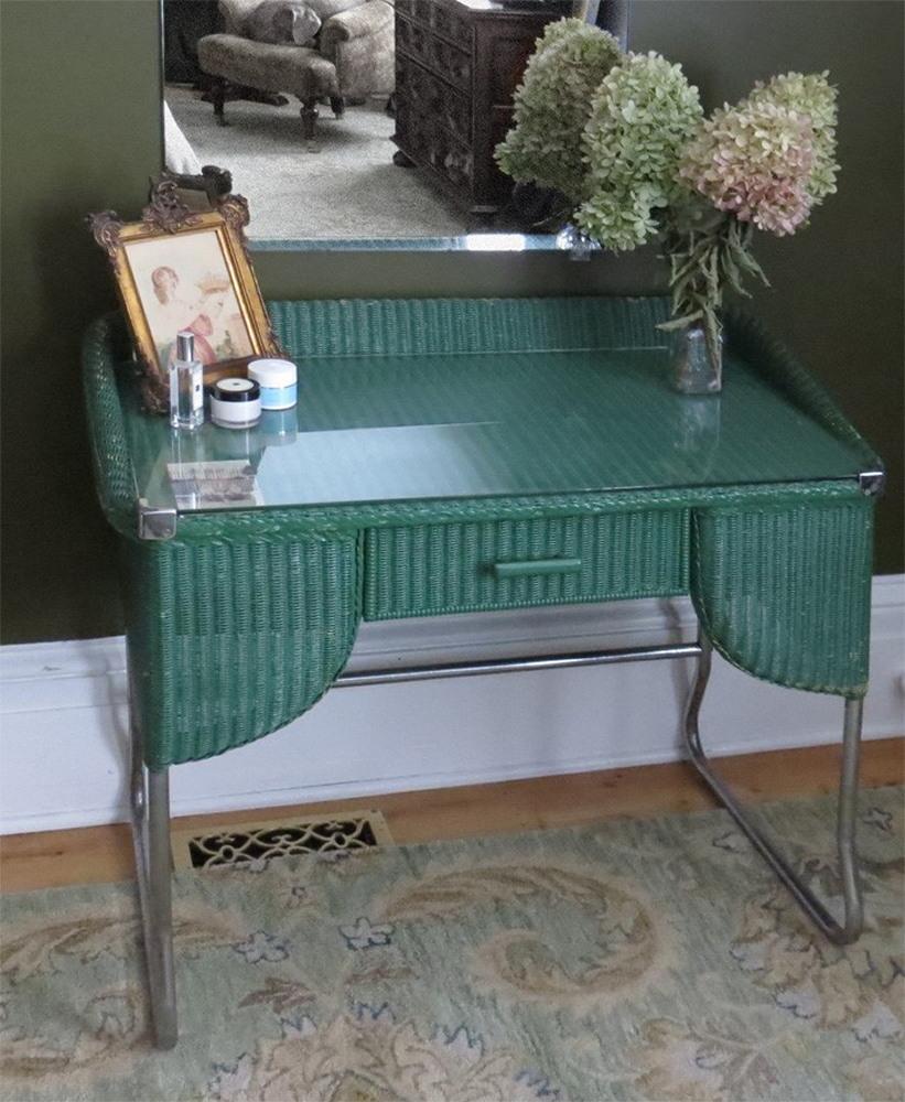 Art Deco Dressing Table by Lloyd Loom
