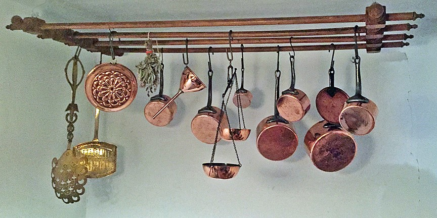 Not the copper ... The Beautiful Wooden Drying Rack